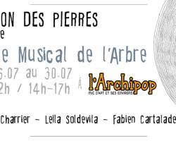 Stage musical de l'Arbre, du 26 au 30 juillet !